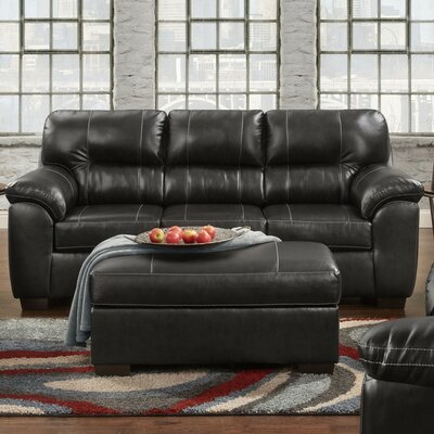 Rainsburg Sleeper Sofa Finish: Black