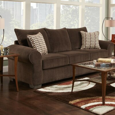 Carrie Sleeper Sofa Finish: Brown