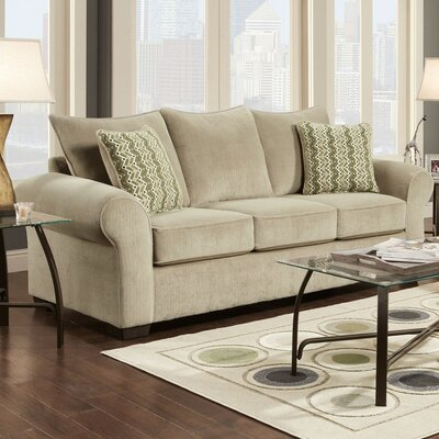 Carrie Sleeper Sofa Finish: Taupe
