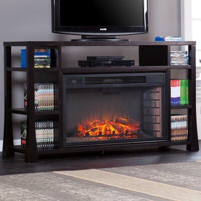 Furniture-Wildon Home Walker Media Electric Fireplace