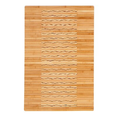 Sands Bamboo Kitchen Bath Rug Rug Size: Rectangle 20x 48