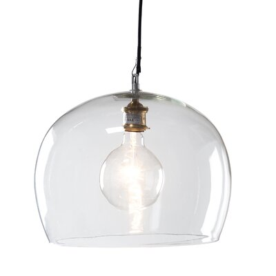 Emery 1-Light Bowl Pendant