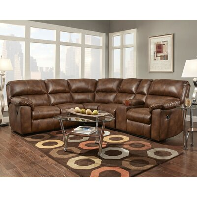 Darby Home Co DABY6242 Ankrum Reclining Sectional