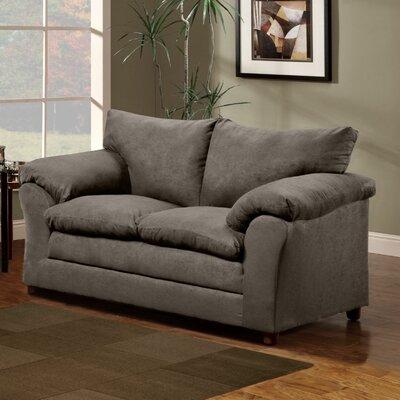 Blake Loveseat Upholstery: Gray