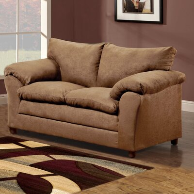 Candlewood Loveseat Upholstery: Taupe