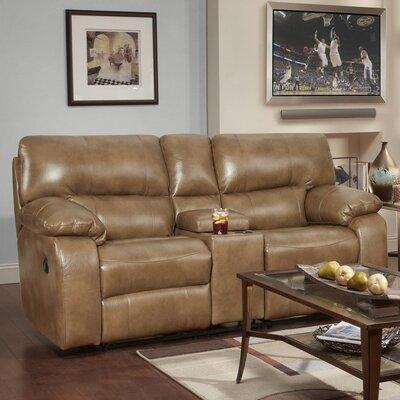 Caroline Reclining Sofa Upholstery: Taupe