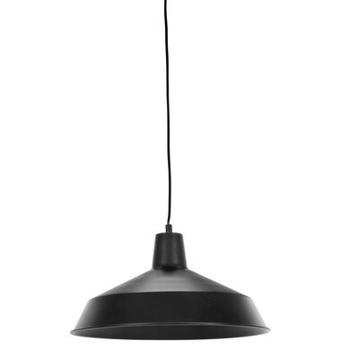 Barnyard 16 Industrial Warehouse 1-Light Pendant Features: Plug In