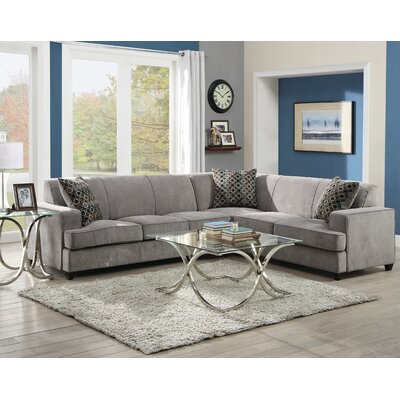 Wildon Home AOAS1382 Sleeper Sectional