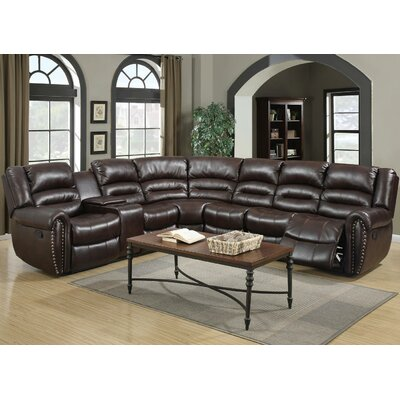 CST39207 28021631 Wildon Home Burgundy Sectionals