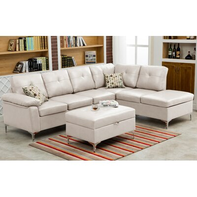 Wildon Home CST43487 30205636 Macy Sectional