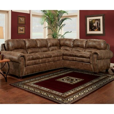 Wildon Home CST46392 31797109 Britianya Sectional Finish