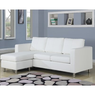 Wildon Home 26179 Kemen Reversible Chaise Sectional Upholstery