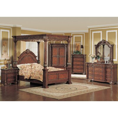 Alchemist Canopy Bed Size: King