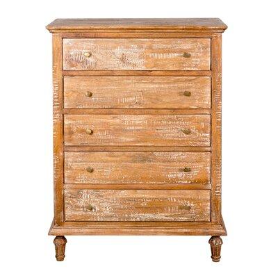 Wilhelmina 5 Drawer Dresser