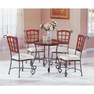 Champagne 5 Piece Dining Set