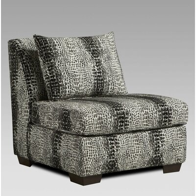 Snakeskin Slipper Chair