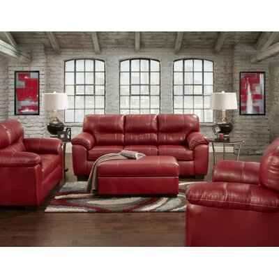 Rainsburg Red Living Room Collection