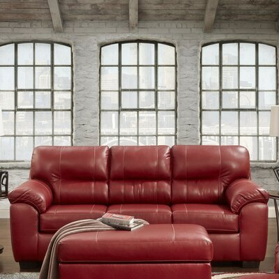 Red Barrel Studio RBRS2406 Rainsburg Red Sleeper Sofa