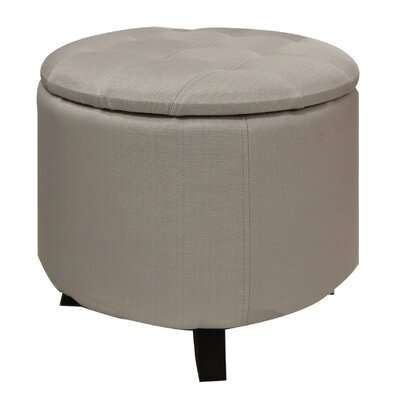 Sherman Storage Ottoman Fabric: Beige
