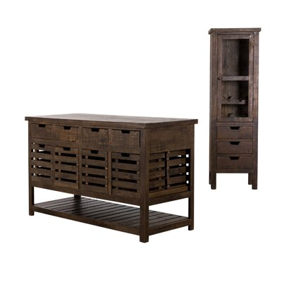 Padilla Kitchen Island Set