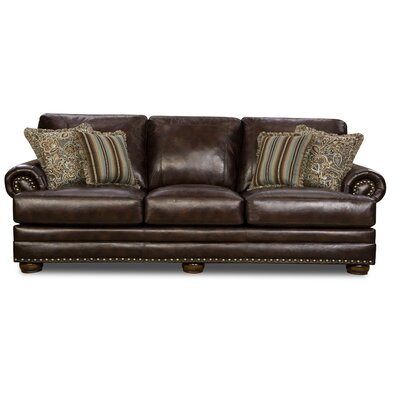 Bivens Traditional Nailhead Trim Sofa
