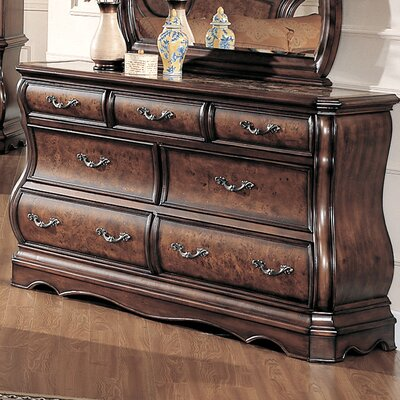 Credit for Shevon 7 Drawer Dresser...
