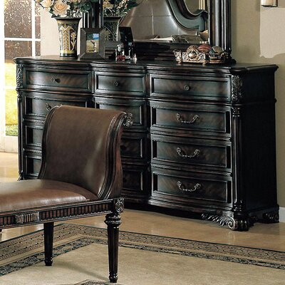 Easy furniture financing Fabiana 12 Drawer Dresser...
