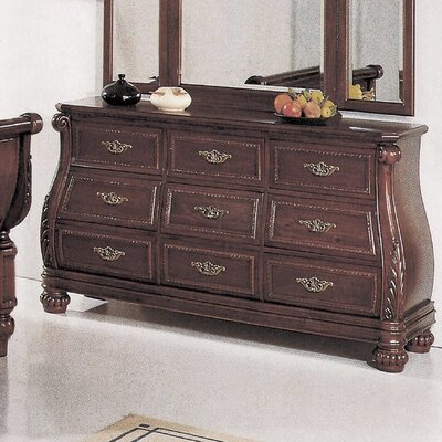 Aledo 9 Drawer Dresser