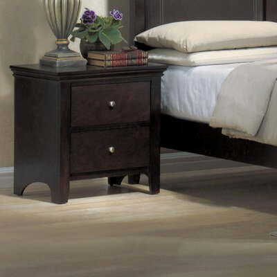 Otego 2 Drawer Nightstand