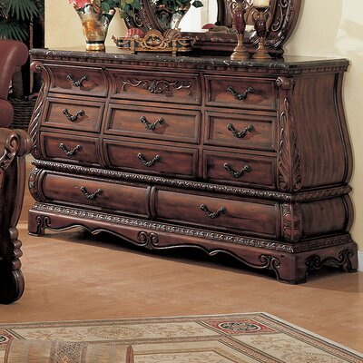 Easy financing Frontega 11 Drawer Dresser...