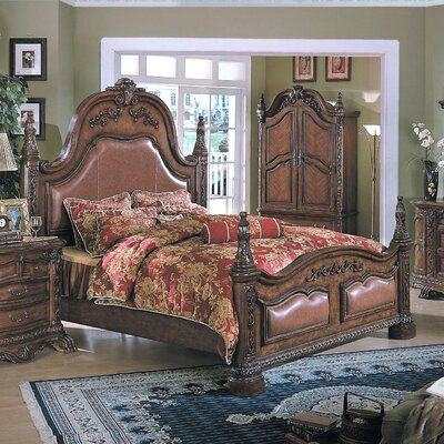 Alderley Panel Bed Size: Queen