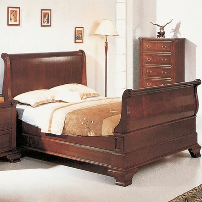 Aledo Sleigh Bed Size: King