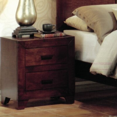 Easy furniture financing Avery 2 Drawer Nightstand...
