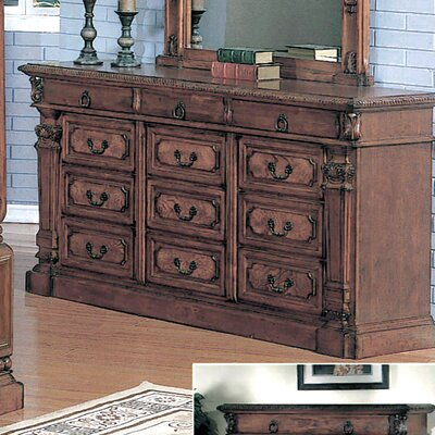 Credit for Chatsworth 9 Drawer Dresser...