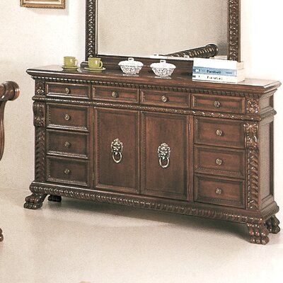 Aleshire 10 Drawer Dresser