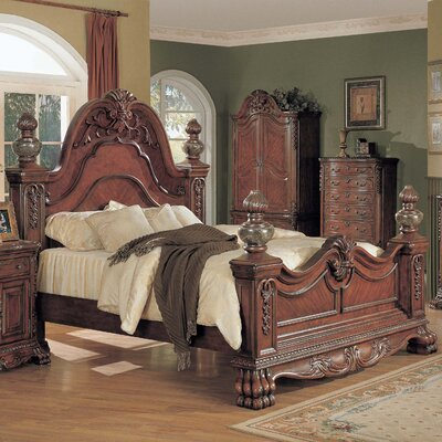 Alcrossagh California king Platform Bed Size: King
