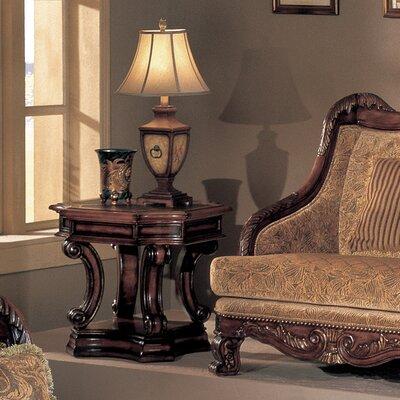 Cheap Wildon Home Cartago End Table in Dark Cherry (CST6540)