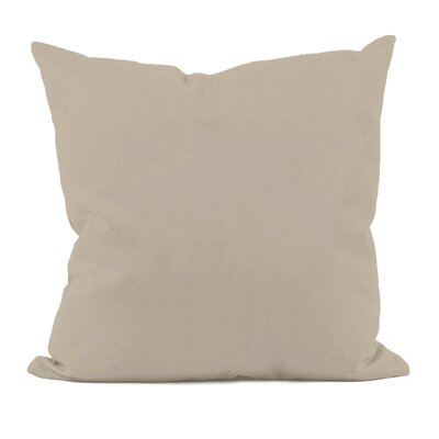 Gatefield Throw Pillow Size: 18 H x 18 W, Color: Flax