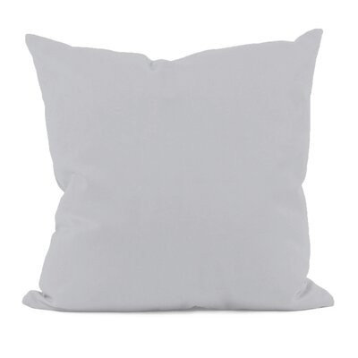 Gatefield Throw Pillow Size: 18 H x 18 W, Color: Rain Cloud