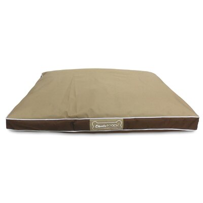 Abbot Bridge In/Outdoor Reversible Mat Color: Beige / Brown, Size: Large (40 L x 30 W)