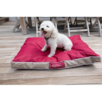 Jessop Abbot Bridge In/Outdoor Reversible Mat Size: Small (36 L x 27 W), Color: Red / Beige