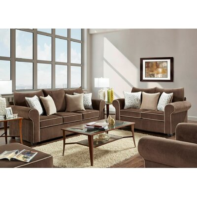 Warsaw 2 Piece Living Room Set