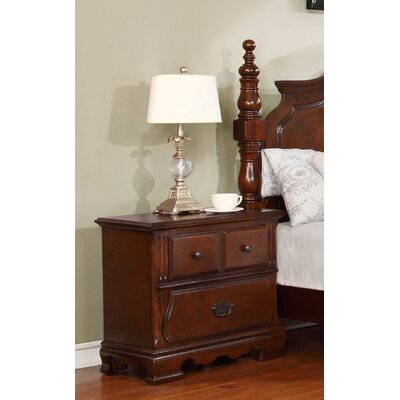 Sterling 2 Drawer Nightstand