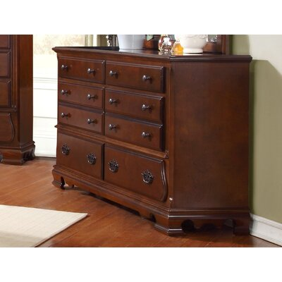 Sterling 8 Drawer Dresser
