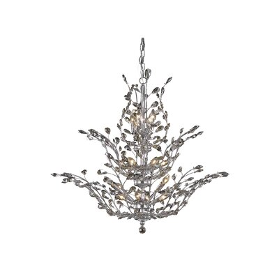 Orchid 18-Light Crystal Chandelier