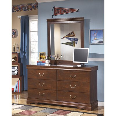 Wilmington 6 Drawers Double Dresser