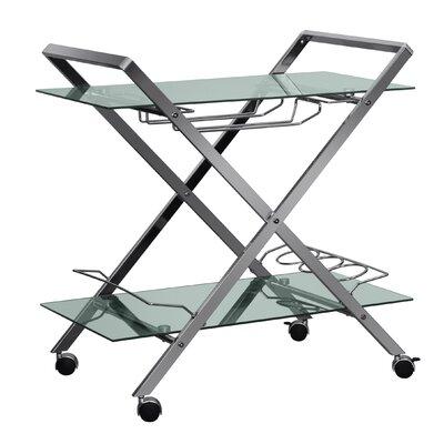 Latitude Run Berge Bar Cart