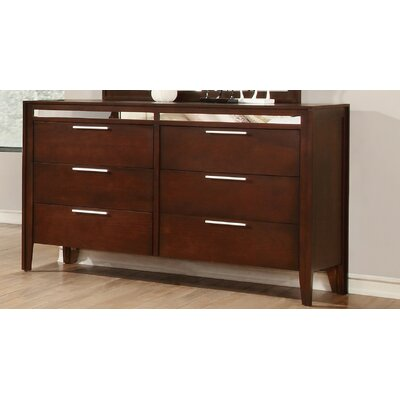 Kingsley 6 Drawer Dresser