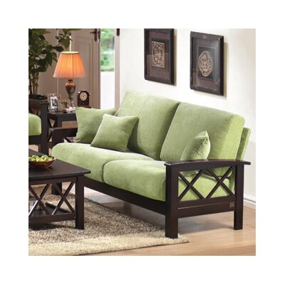 Wildon Home Mission Style Sofa - Color: Java and Pear at Sears.com