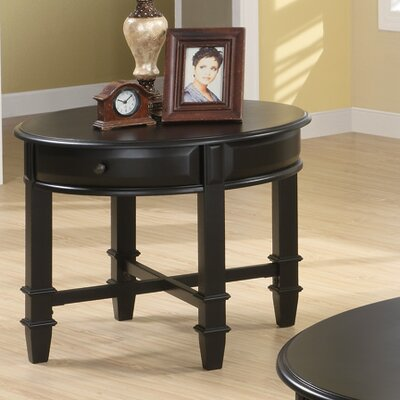 Cheap Wildon Home Cronin Classic End Table in Black (CST7215)